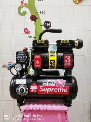 (全新) 黑金剛專業無油靜音氣泵600w 9L, 模型上色,噴畫,吹塵,小木工,打氣,勞作等等。