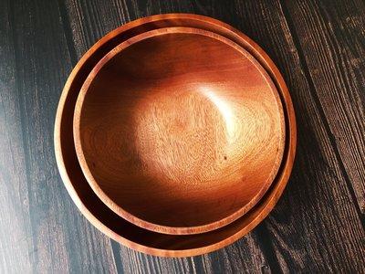 竹藝坊-TB02系列/木沙拉碗/碗公/炸物碗盤/木盆(小)