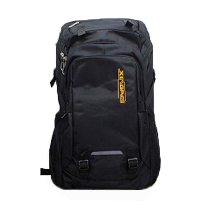 MY2203BK韓版大容量60L双肩背包登山包旅行包黑色
