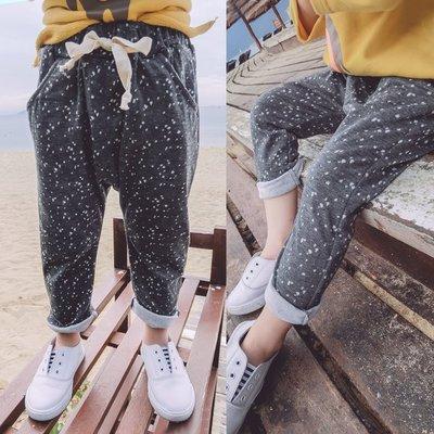 ♥【GK0156CK-8704】韓版女童裝點點緹花牛津長褲 2色 (灰色 現貨) ♥