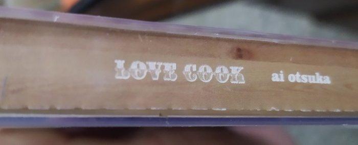 二手專輯[大塚愛ai Otsuka  LOVE COOK]1雙層膠盒+1寫真歌詞本+1中文歌詞摺頁+1CD +1DVD