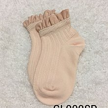 ~Cutebearstore~ 日單女童淨色花邊短襪 (GL009SP)