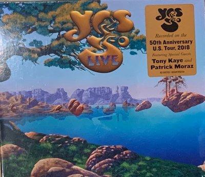 【搖滾帝國】前衛(Progressive)金屬樂團 YES / Yes 50 Live 2CD專輯 2019年全新發行