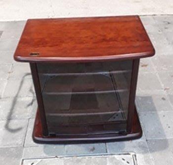 樂居二手家具 台中西屯二手傢俱買賣推薦 A0327AJJE 紅木色小電視櫃 TV矮櫃*二手櫥櫃 鞋櫃 置物櫃 收納櫃