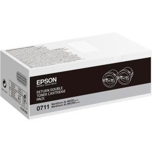 《含稅直購》全新EPSON C13S050711 原廠雙包裝碳粉匣適用M200DN M200DW MX200DNF