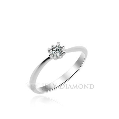 《JELY時尚館》【JELY Diamond】仲夏之戀---10分天然真鑽石戒指 §會員終生獨享交換維修優惠§