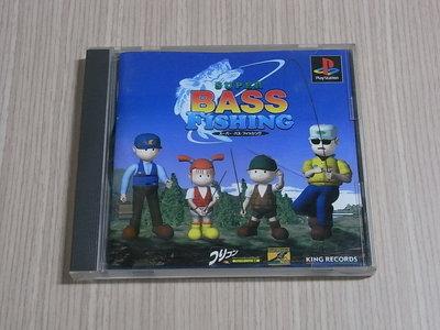 【小蕙館】<PS1> SUPER BASS FISHING 超級鱸釣手 (純日版)
