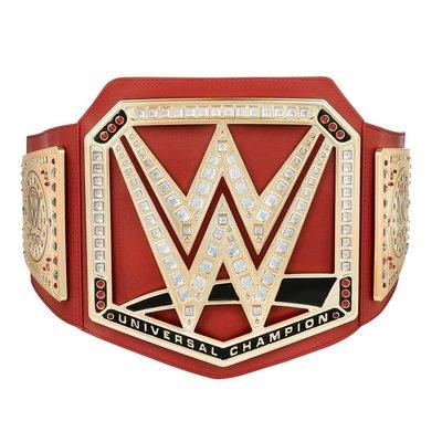 ☆阿Su倉庫☆WWE摔角 Universal Championship Toy Belt 全球冠軍腰帶玩具版 熱賣特價中