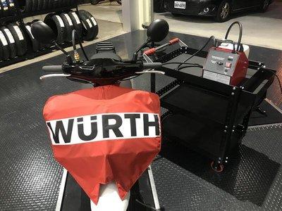 [ Moto Dream 重機部品 ] gogoro1 2 3 煞車油更換 WURTH 德國福士壓力式煞車油更換