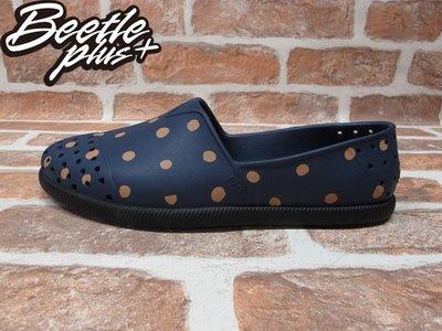 BEETLE 現貨 NATIVE VERONA REGATTA BLUE 深藍 圓點點 水手鞋 GLM18-483
