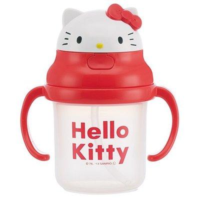 【Hellor Kitty】☆.。~雙握-新幼兒學習外出杯~230ml*~現貨☆.。.:*