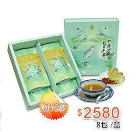 ㄚ母滴雞湯-粉光參虱目魚精【1盒8包入,每包60cc】*2