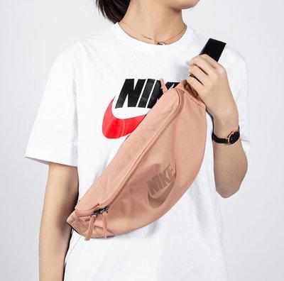 [飛董] NIKE Heritage Hip BAG 腰包 臀包 側背 肩背 CK0981 605 玫瑰金