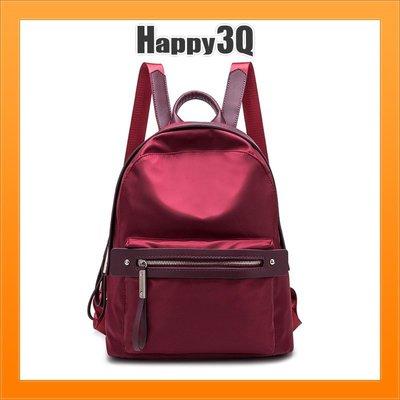 雙肩包手提包後背包素色上班包通勤包時尚感包包-黑/紅/酒紅/粉【AAA3882】