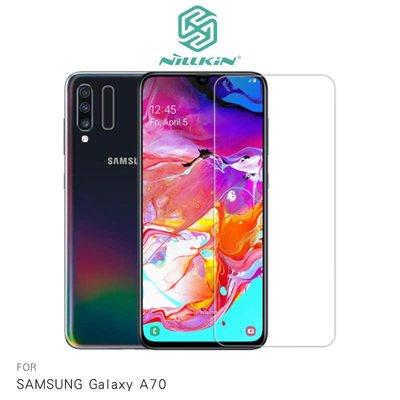 *phone寶*NILLKIN SAMSUNG Galaxy A70 Amazing H+PRO 鋼化玻璃貼 非滿版 保