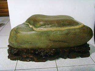 [ 綺緣精品 ] 雅石 - 烏江石--雲頂 -- 重約:80公斤