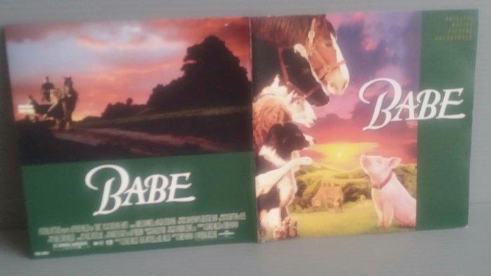 Babe-Nigel Westlake  電影原聲帶 寶貝:小豬走得很遠 原版CD片新 中英文歌詞新 歡迎大家多多提問