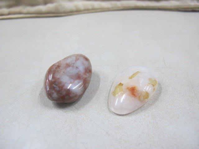 二手舖 NO.4189 天然玉石 瑪瑙原礦 原石 已拋光 8.29g和16.4g