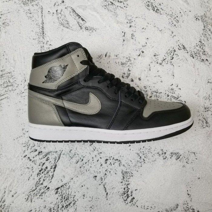 "Air Jordan AJ1""Shadow""黑灰影子 篮球鞋555088-013"