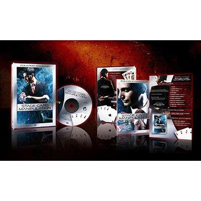 [魔術魂道具Shop] 美國原裝進口 ~ Stage Card Manipulation by Eduardo Galeano ~ 最新出牌DVD!