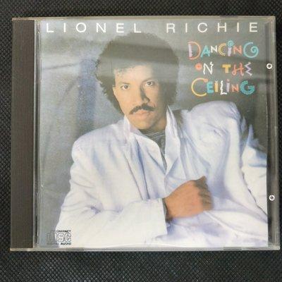 CD/DG3/ 英文/ Lionel richie/1985日本天龍虛字版/萊諾李奇/Dancing on the ceiling/非錄音帶卡帶非黑膠