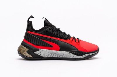沃皮斯§PUMA UPROAR CORE 籃球鞋 黑紅 男鞋 92775-08