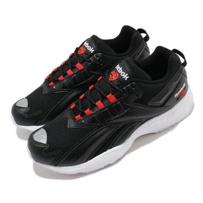 =CodE= REEBOK INTV 96 3M反光電繡皮革慢跑鞋(黑白紅) FX2144 情人節 愛心 老爹鞋 男女