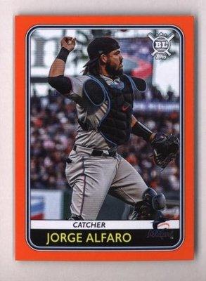 橘邊特卡 2020 Topps Big League Orange #118 Jorge Alfaro
