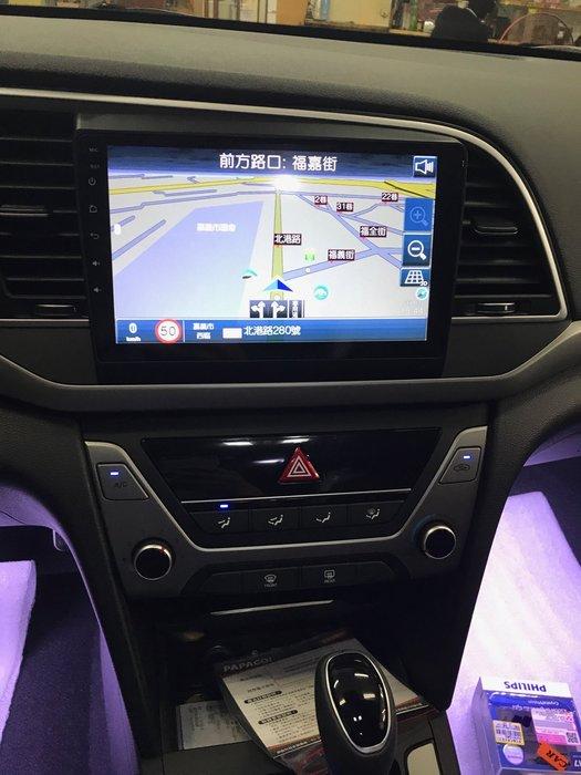 【嘉義.新動力汽車影音】HYUNDAI Elantra 專用9吋安卓機