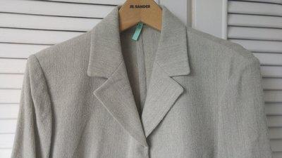 【CERRUTI 1881 Jeans】夏綠蒂98%小羊毛西裝外套