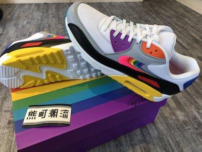 "11全新 Nike Air Max 90 ""Be True"" CJ5482-100"