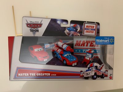 Disney PIXAR Cars Toon 反斗車王 1:43 3-Pack Set - MATER THE GREATER
