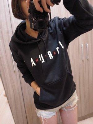 耐吉 NIKE AIR JORDAN黑色 灰色 紅色 基本口袋款 男版帽T AH4510耐克 綿質 大學T/澤米