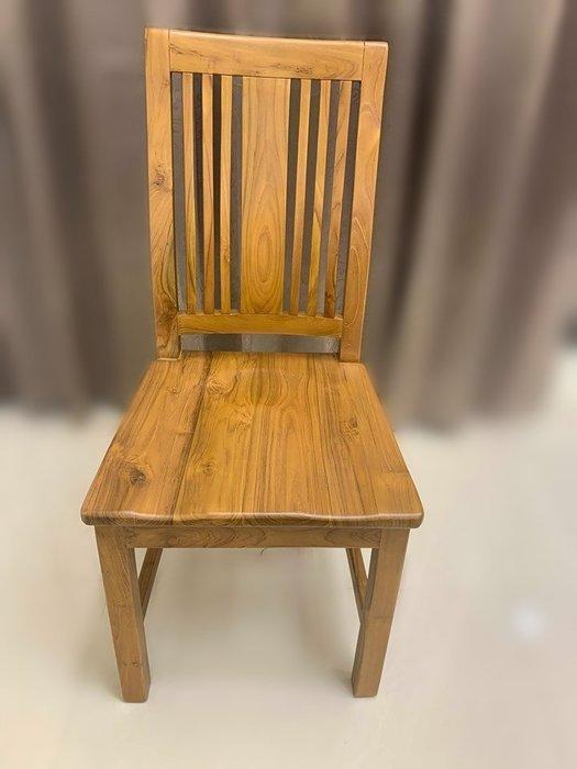 樂居二手家具 家電 便宜2手傢俱拍賣EA57BJ*全新柚木餐桌椅* 衣櫥 櫥櫃*臥室傢俱 床組 床墊 床架