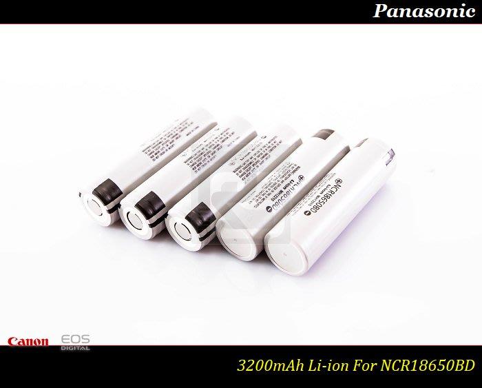 【特價促銷】全新原裝松下Panasonic NCR18650BD -3200mAh /18650 Nitecore D4