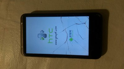 二手物品,HTC空機,面板破裂如圖 新北市