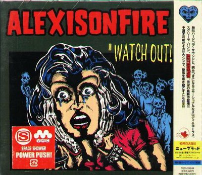 K - Alexisonfire - WATCH OUT - 日版+2BONUS  - NEW