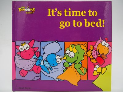 【月界】It's time to go to bed:Basic Book-酷龍寶貝(絕版)_閣林國際〖少年童書〗CLR