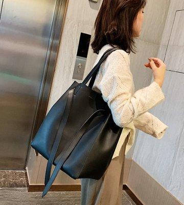 Cutie-Newbag「CB218」韓國IG熱銷推薦多變抽帶大容量托特包/水桶包