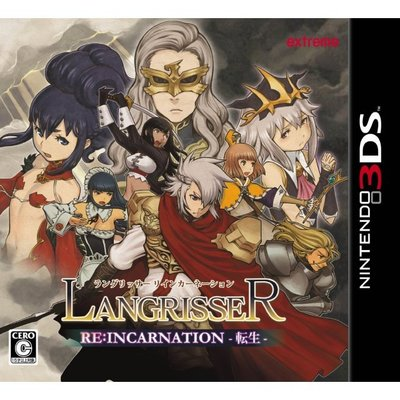 3DS純日版中古品~夢幻模擬戰:Reincarnation 轉生(日文版)--(限日規主機)送雙特典