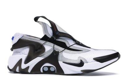 【紐約范特西】預購 Nike Adapt Huarache White Black 黑白 自動綁鞋帶 回到未來