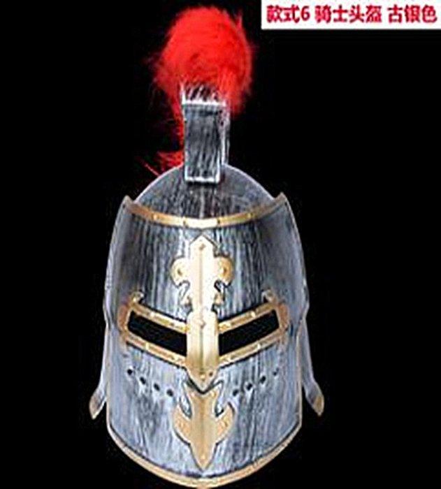 【洋洋小品舞會面具騎士武士頭盔】聖誕節表演派對扮演服裝道具萬聖節服裝表演服化妝舞會節日服飾 舞臺表演道具羅馬武士頭盔