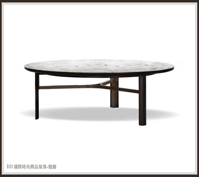 DD 國際時尚精品傢俱-燈飾 Minotti Dan (復刻版)天然石面圓餐桌 現品特價$95000