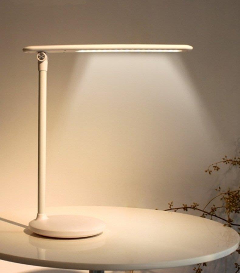 三段可調光的LED枱燈 節能省電小夜燈 USB充電檯燈 小糯米桌燈 可當工作燈床頭燈餵奶燈 一鍵觸控 居家生活