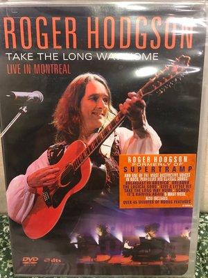 美版DVD Roger Hodgson – Live in Montreal 演唱會(全新未拆封) Supertramp