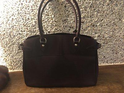 LV紫色水波紋大手提袋(公事包)