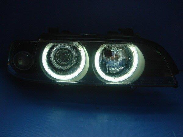 小亞車燈╠ 全新 DEPO 製 BMW E39 白光 CCFL 光圈 魚眼 大燈 免運費