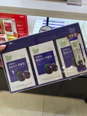 韓國 正官庄 黑莓 黑棗 紅蔘精 口服 濃縮液 7g X 30包 黑莓