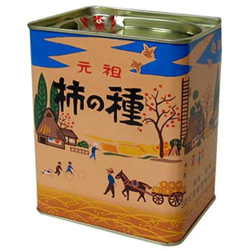 連線 ◎日本◎ 浪花屋 元祖柿種 米果 鐵罐裝