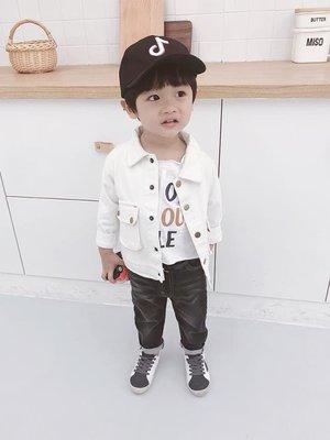 男童長版外套童裝春秋裝正韓休閒寶寶長袖上衣男孩夾克衫嬰兒
